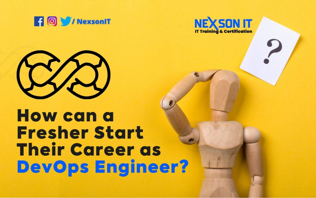 How can a fresher become a DevOps engineer in 2021?